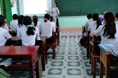 Tổ Khoa học tự nhiên tổ chức tiết Bài học minh họa lần thứ nhất, năm học 2020-2021