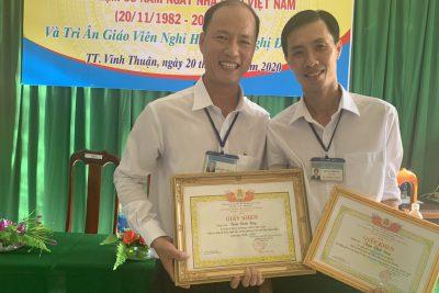 Quyết định tặng bằng khen của Chủ tịch UBND tỉnh Kiên Giang tập thể lao động xuất sắc và cá nhân năm học 2019-2020