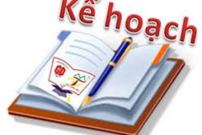 kế hoạch kiểm tra học kì 1, năm học 2019-2020