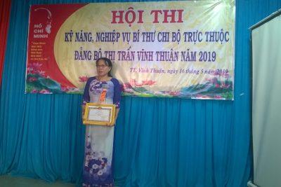 Ảnh cuộc Thi Bí thư chi bộ giỏi Thị trấn Vĩnh Thuận 2019