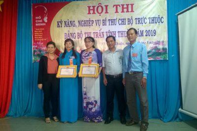 Chi bộ Trường THCS Thị Trấn tham gia Hội thi Bí thư chi bộ giỏi năm 2019