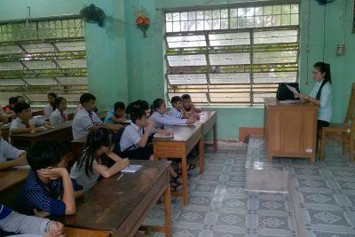 Ngày học tập đầu tiên của học sinh trường THCS Thị Trấn năm học 2019-2020.