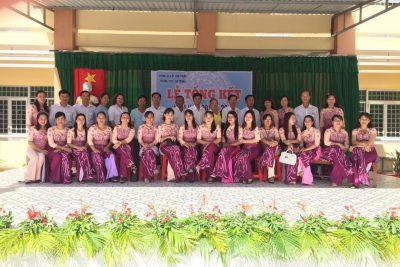Trường THCS Thị Trấn tổ chức lễ Tổng kết năm học 2018-2019